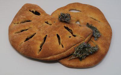 Fougasse aux olives et au romarin